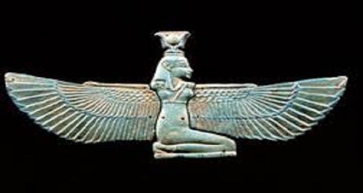 Antički amulet sa egipatskom boginjom Izidom (Isis)