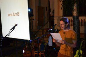 Ivan Antić na festivalu kratke priče Kikinda short